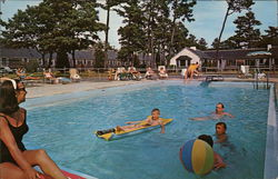 Top O' The Morn Motor Lodge Postcard