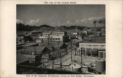 The City of the Atomic Bomb - One of the Gigantic Production Areas