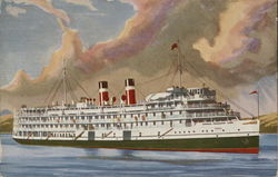 "Canada Steamship Lines - S.S. ""St. Lawrence"""