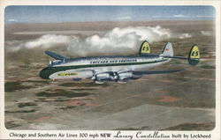 Chicago and Southern Air Lines - Luxury Constellation