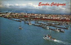 Aerial of the Eureka Boat Basin