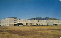 Montana State College - Men's Residence Hall Postcard