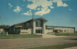 St Vincent DePaul Catholic Church and School Postcard