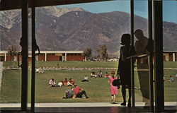 Chaffey College - Looking North to Sierra Madre Mountain Range from Student Center