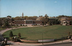 Johns Hopkins University - Milton S. Eisenhower Library and Homewood House