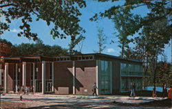 Huntington College - Student Union Building Postcard