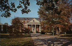 Roanoke College - Administration Building Postcard