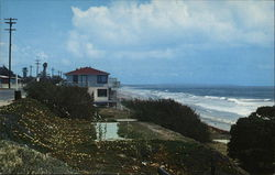 View of Shore Postcard