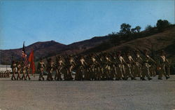 Marines Parade at Camp Horno, Camp Pendleton