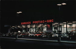 Burdick Pontiac-GMC Inc. Postcard