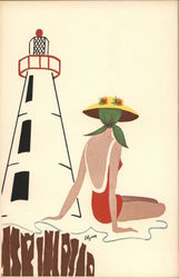 Mary Lou and Lighthouse