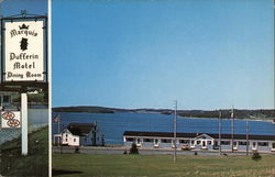 Marquis of Dufferin Motel Postcard
