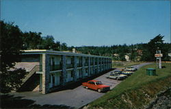 Wedgewood Motel, Birch Cove Postcard