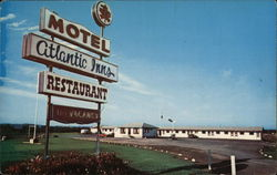 Atlantic Inns Motel & Restaurant Ltd. Postcard