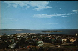 View of Partridge Island and Bay of Fundy from Martello Tower