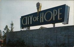 City of Hope - Entrance Sign