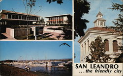Greetings from San Leandro Postcard