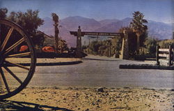 Furnace Creek Ranch - Entrance
