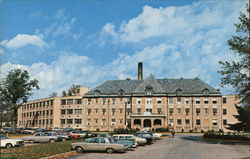 Clay County Hospital, located on East National Avenue Postcard