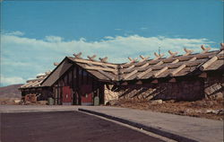 Alpine Visitor Center, Fall River Pass Postcard