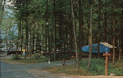 Camping at Kiasutha Recreational Area Postcard