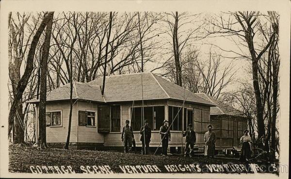 Cottage Scene - Ventura Heights Iowa