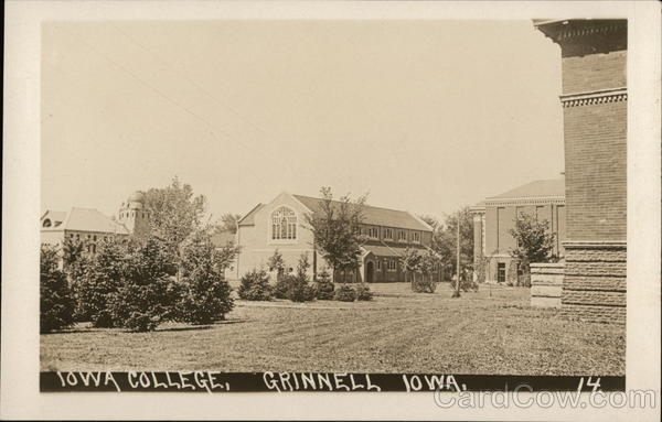 Iowa College and Grounds Grinnell
