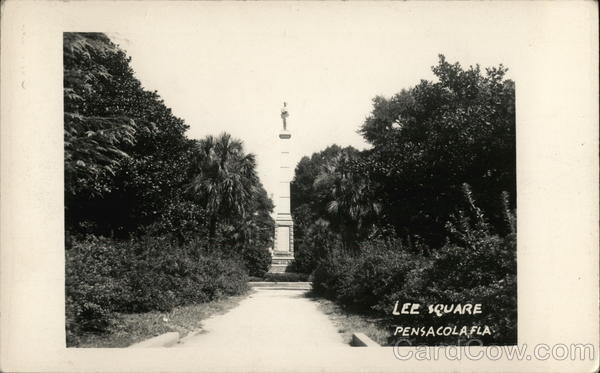 View of Lee Square Pensacola Florida
