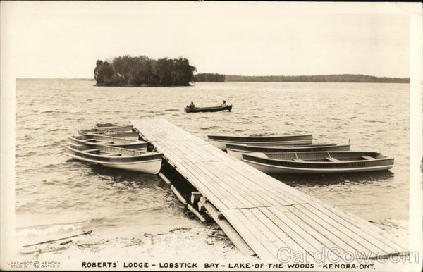 Roberts' Lodge - Lobstick Bay - Lake-of-the-Woods Kenora Canada