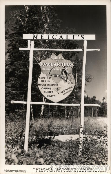 Metcalf Canadian Camps, Lake-of-the-Woods Kenora Canada