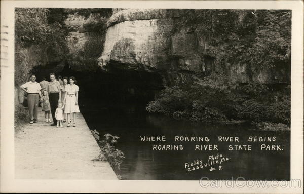 Where Roaring River Begins - Roaring River State Park Cassville Missouri