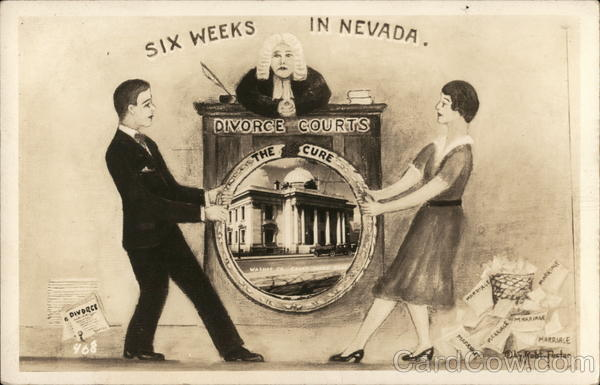 Six Weeks in Nevada Divorce Courts Couples