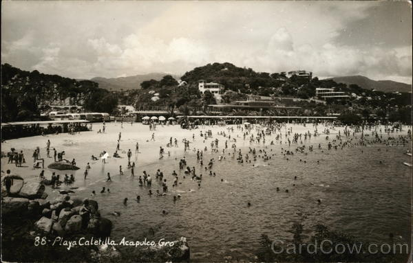 Playa Caletilla Acapulco Mexico