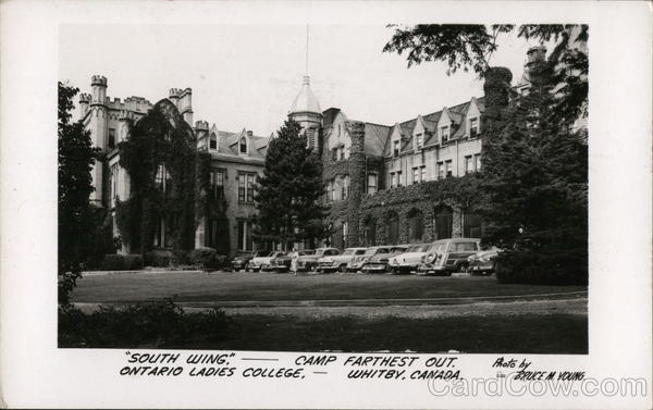 Ontario Ladies College - South Wing Whitby Canada