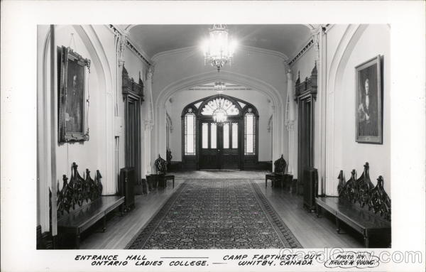 Ontario Ladies College - Entrance Hall Whitby Canada