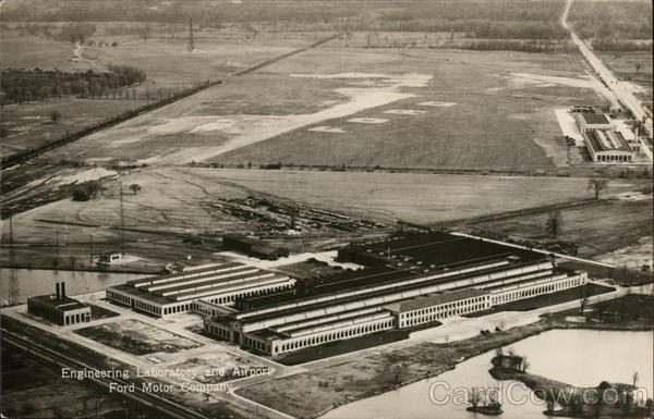 Ford Motor Company - Engineering Laboratory and Airport Dearborn Michigan