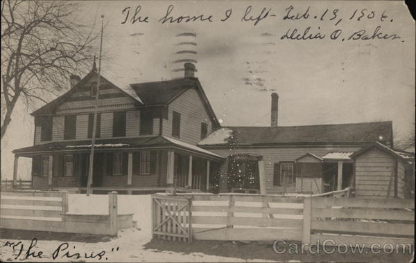 The Pines, Former Home of Delia O. Baker Boone Iowa