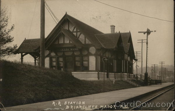 Railroad Station Briarcliff Manor New York