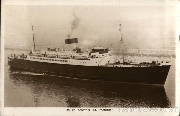 British Railways S.S. Arnhem Ferries