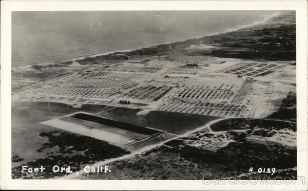 Aerial VIew of Camp Fort Ord California