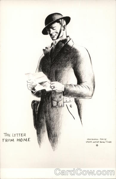 The Letter from Home Marshall Davis World War II