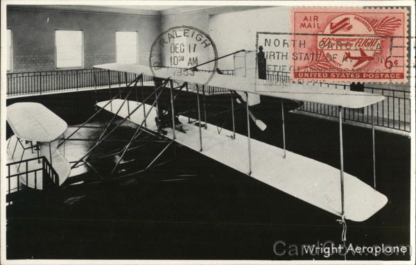 Wright Aeroplane Aircraft Commemorative Cancels