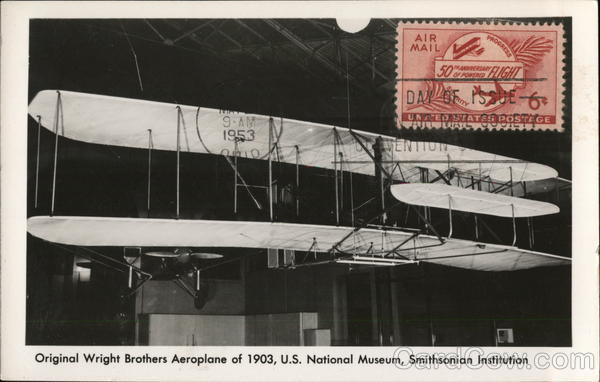 Wright Brothers Aeroplane 1903, U.S. National Museum, Smithsonian Institute