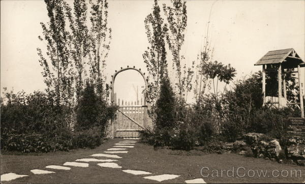 The Old Mill Garden - A Century of Progress South Bend Indiana