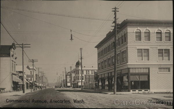 Commercial Avenue Anacortes Washington