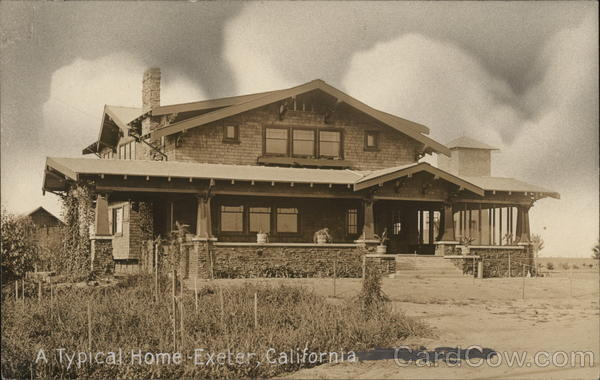A Typical Home Exeter California
