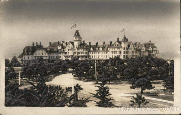 Hotel del Coronado on Imperial Beach California