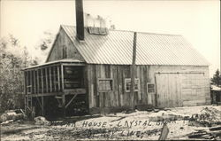 Sugar House, Crystal Brook Farms Postcard