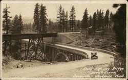 "State Highway Bridge, ""Devil's Corral"", Susanville and Westwood Road"