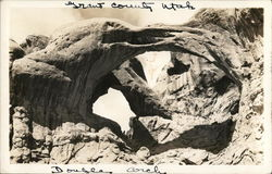 Double Arch, Arches National Monument